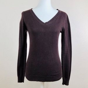 Ambiance Apparel V-Neck Light Weight Sweater